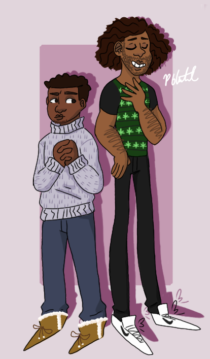 MODERN JEFFMADS!!! i attempted to make a good looking weed shirt and i failed. (by @howdynyall )