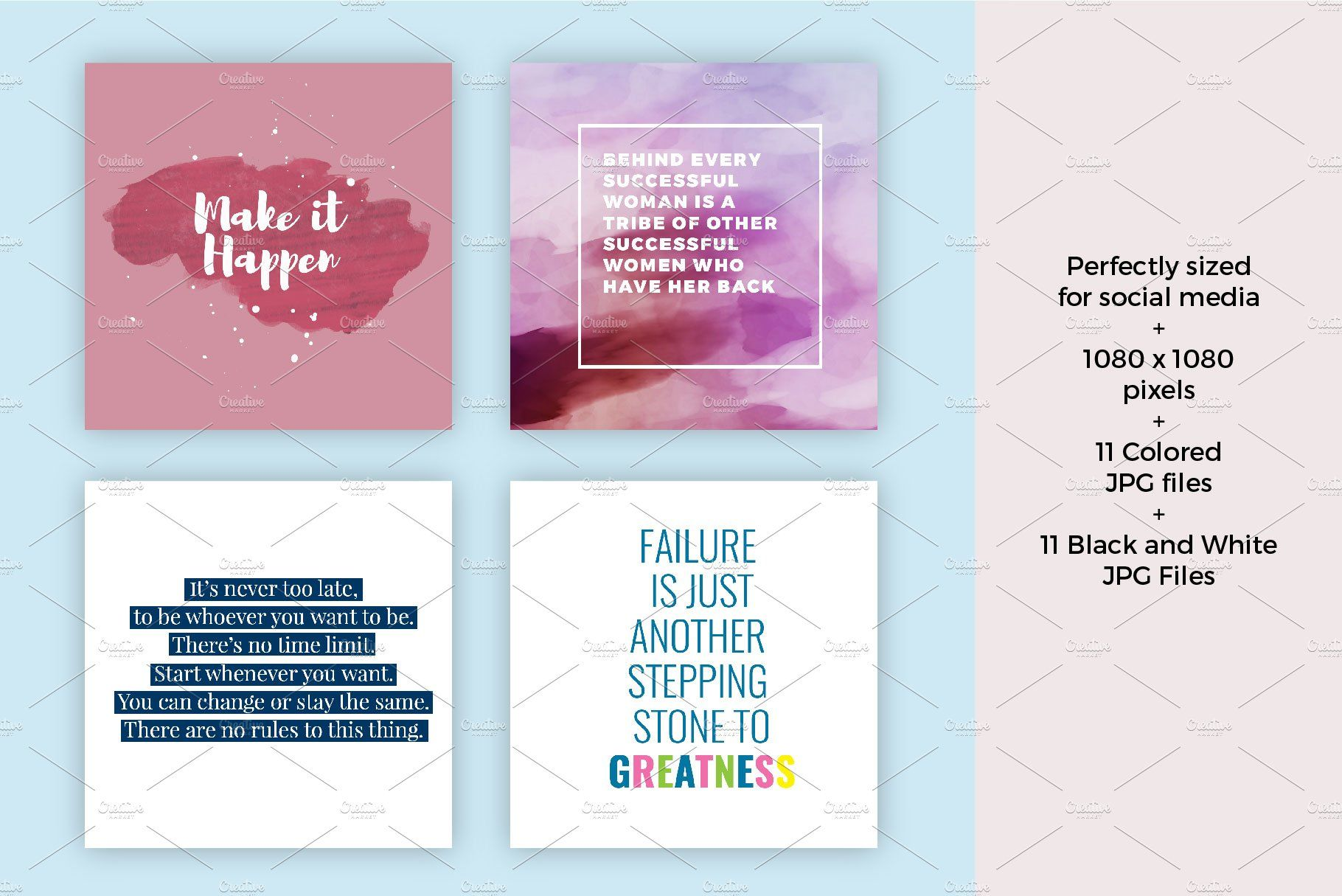 Social Media Quote Templates Social Media Quotes Quote Template