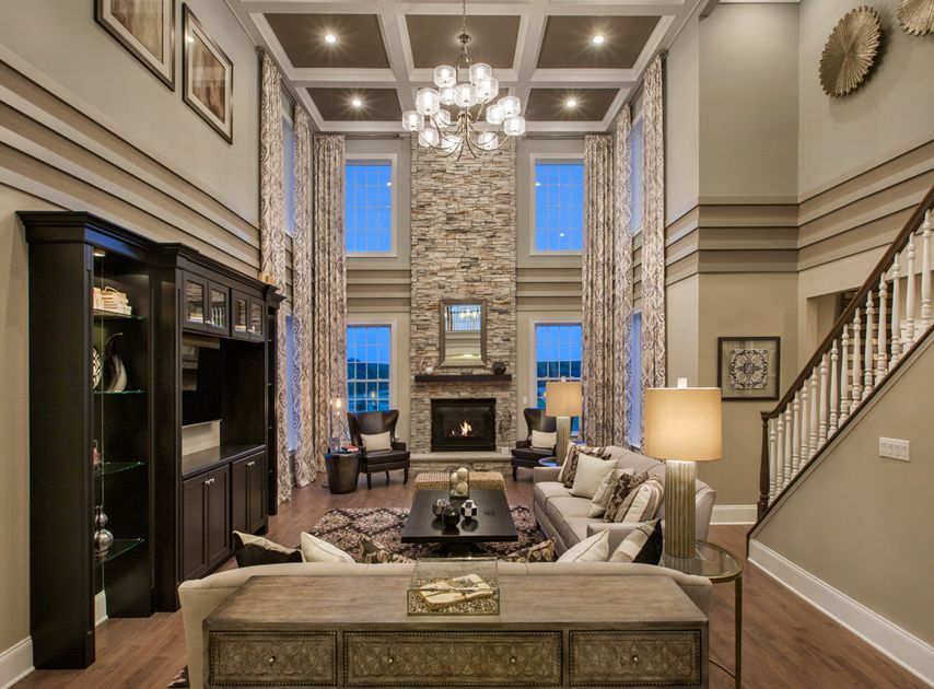 Toll Brothers The Hampton Family Room UPDATE HOME
