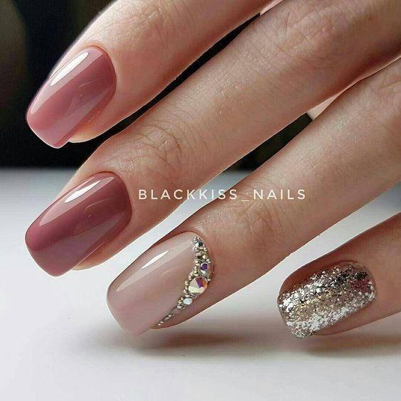 Ногти дизайн 2018 фото   Unghie   Elegant nails, Nail ...