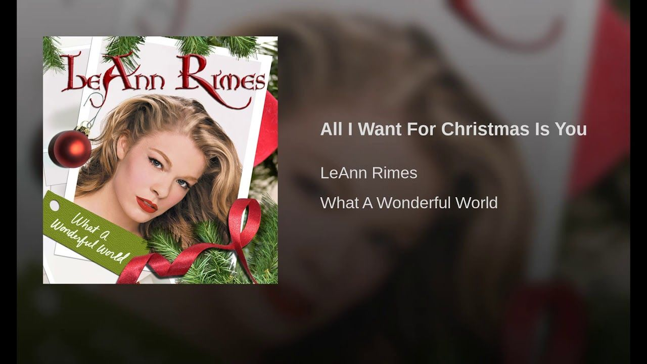 All I Want For Christmas Is You O Holy Night Just Love Me Christmas Song