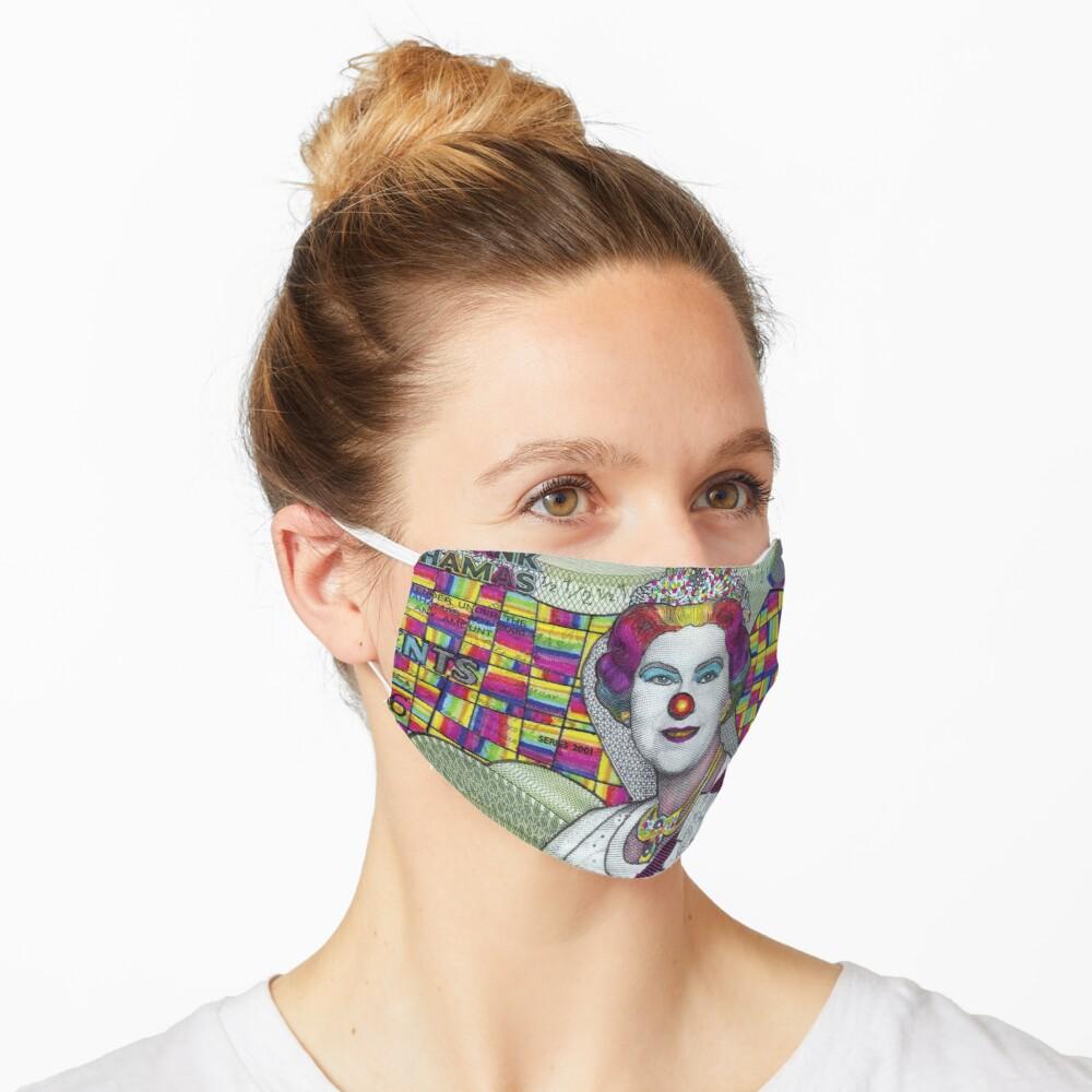 Funny Money Bahamian Half Dollar Queen Elizabeth Ii Mask By Joshusmani In 2020 Queen Elizabeth Ii Queen Elizabeth Elizabeth Ii