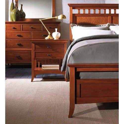 Cresent Fine Furniture Cresent Classics - Modern Shaker Nine Drawer ...