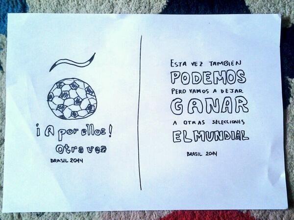 """Bocetos para el proyecto de camiseta """"Anima a la selección española de fútbol"""" para el mundial Brasil 2014"""