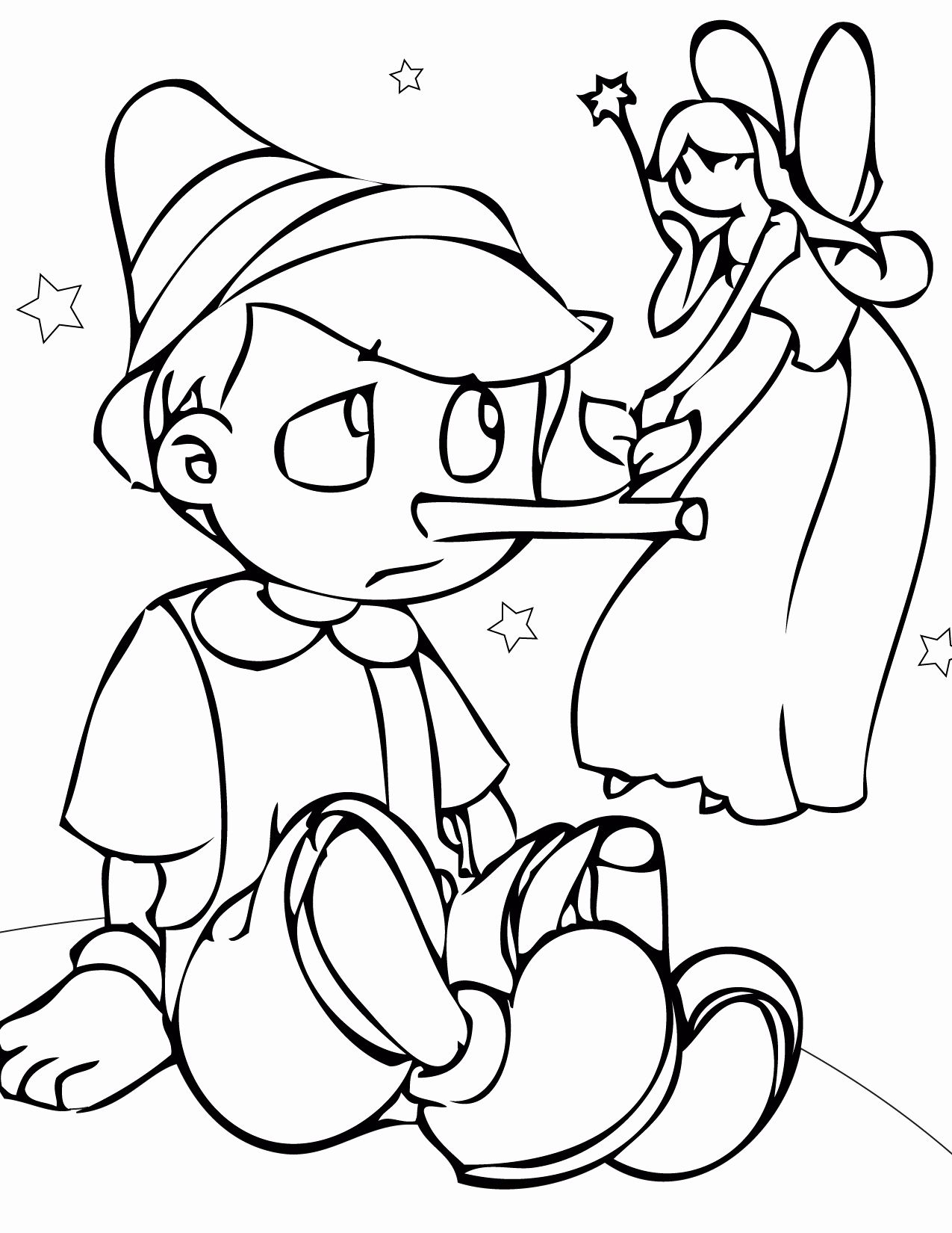 Fairy Tale Coloring Pages Taken