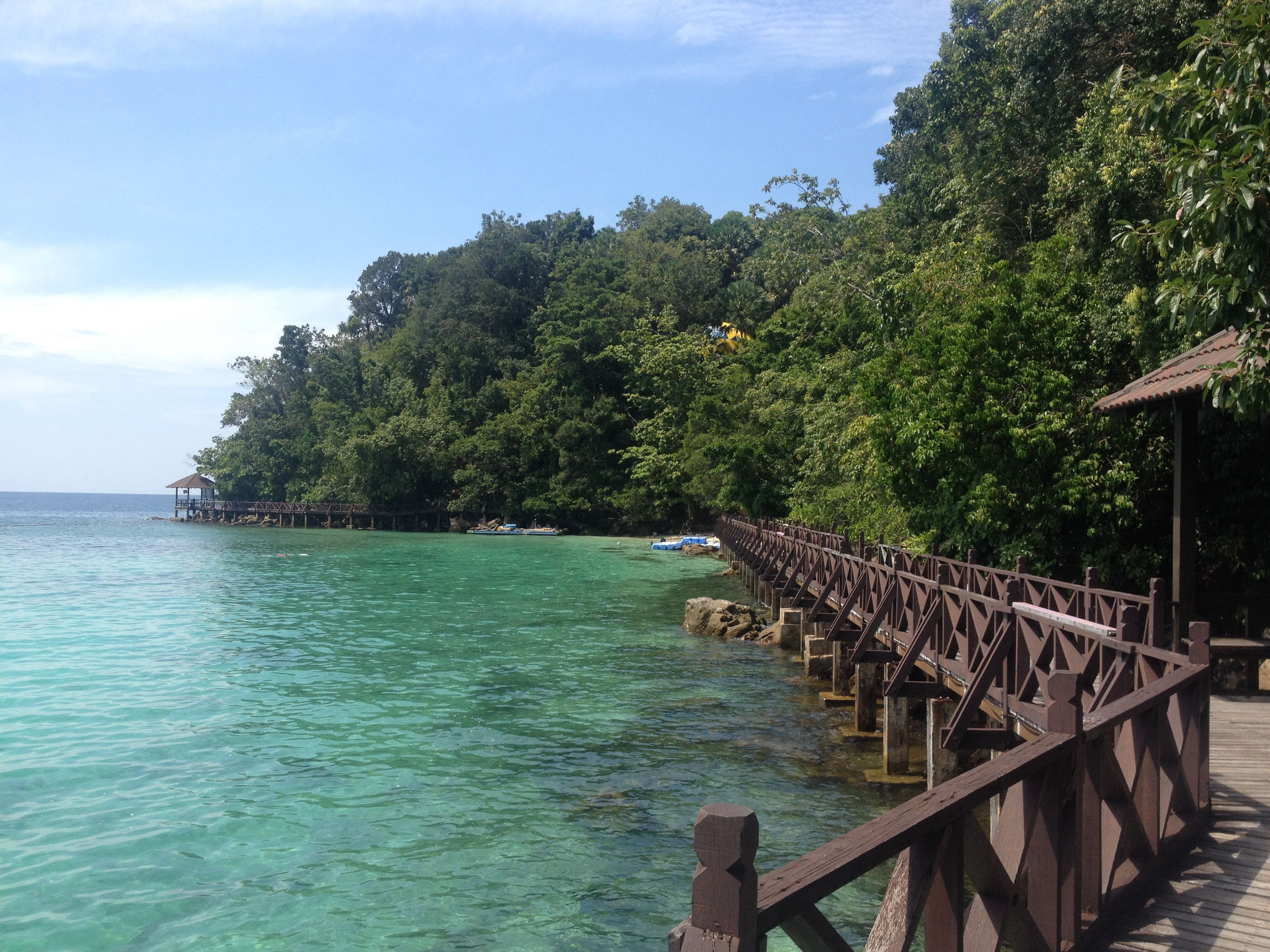 Marine park, Langkawi island, Penang. Perfect snorkelling destination. Backpacking South East Asia.