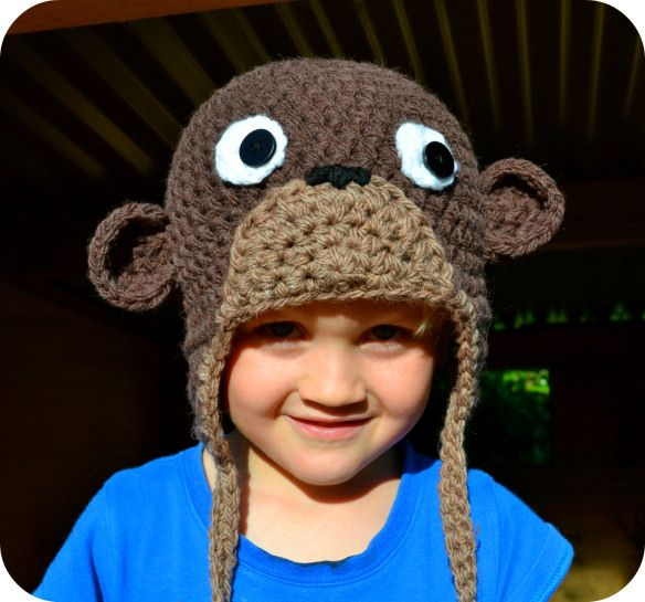 Cheeky Little Monkey Hat Crochet Monkey Hat Monkey Hat And Free