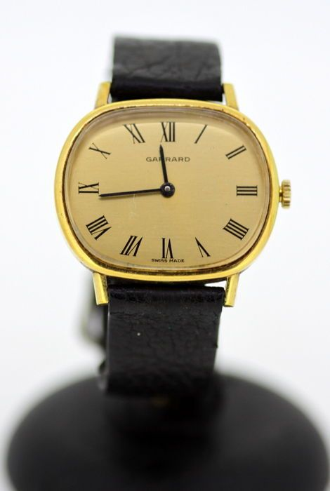 Currently at the #Catawiki auctions: Garrard Gold Plated Swiss Made Manual Winding Unisex Vintage Wristwatch