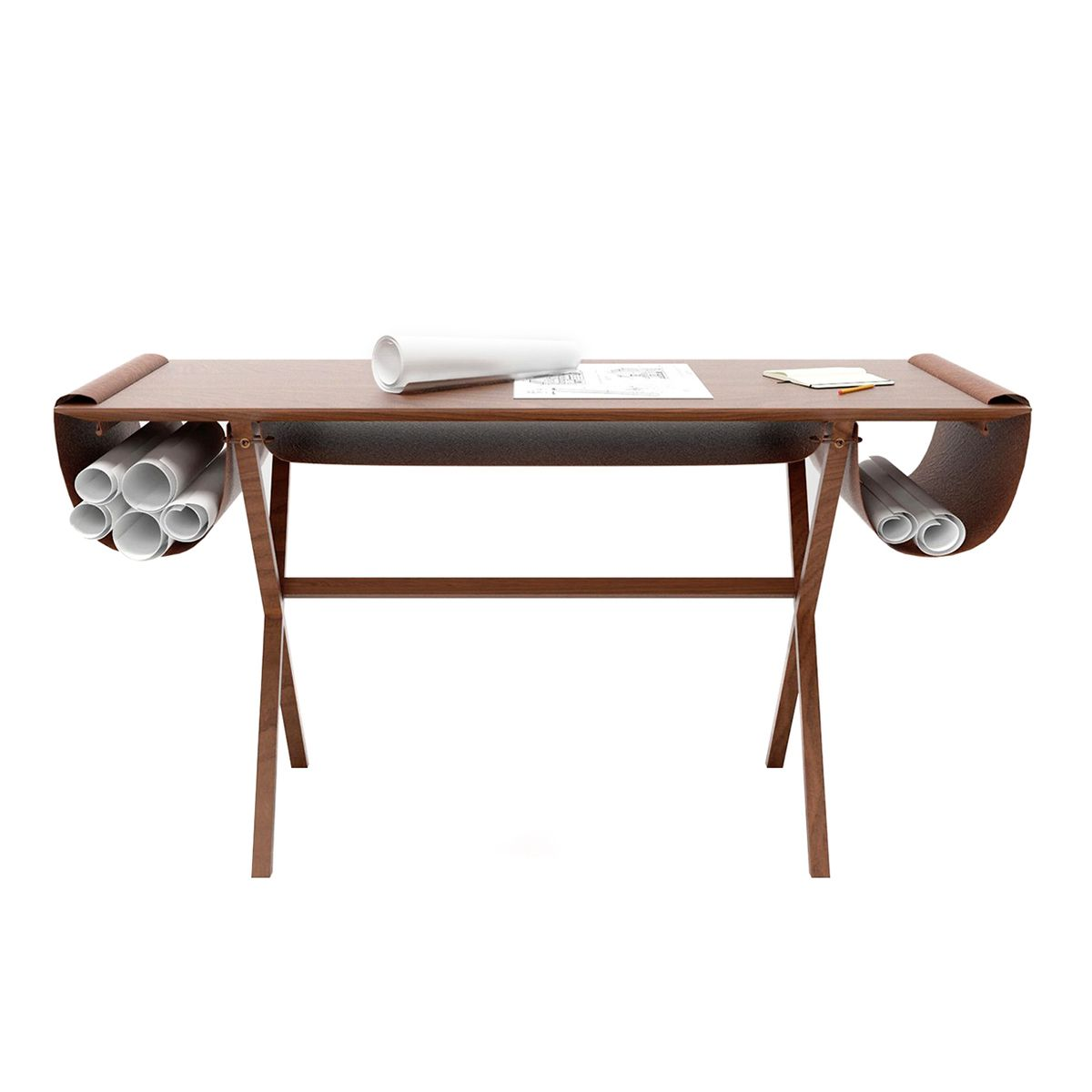 Is there a better way to pay tribute to a master among designers, than to name the perfect work desk after him? With Oscar, Valsecchi 1918 pays a trib...