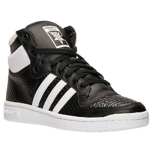 9ff357bfb8 Women s adidas Top Ten Hi Casual Shoes - B35338 BLK