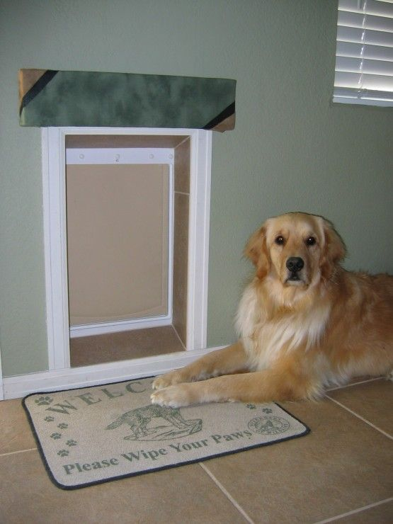 Insulated Dog Doors Doors Dog And Doggies