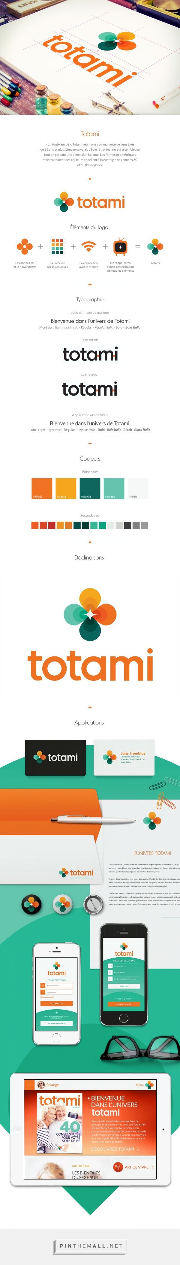 Totami Branding on Behance alickreative mahendiali