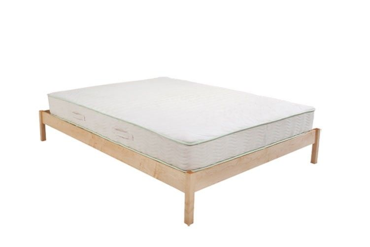 The B Flat Urban Retreat Natural Bed Frame Maple Choose Size