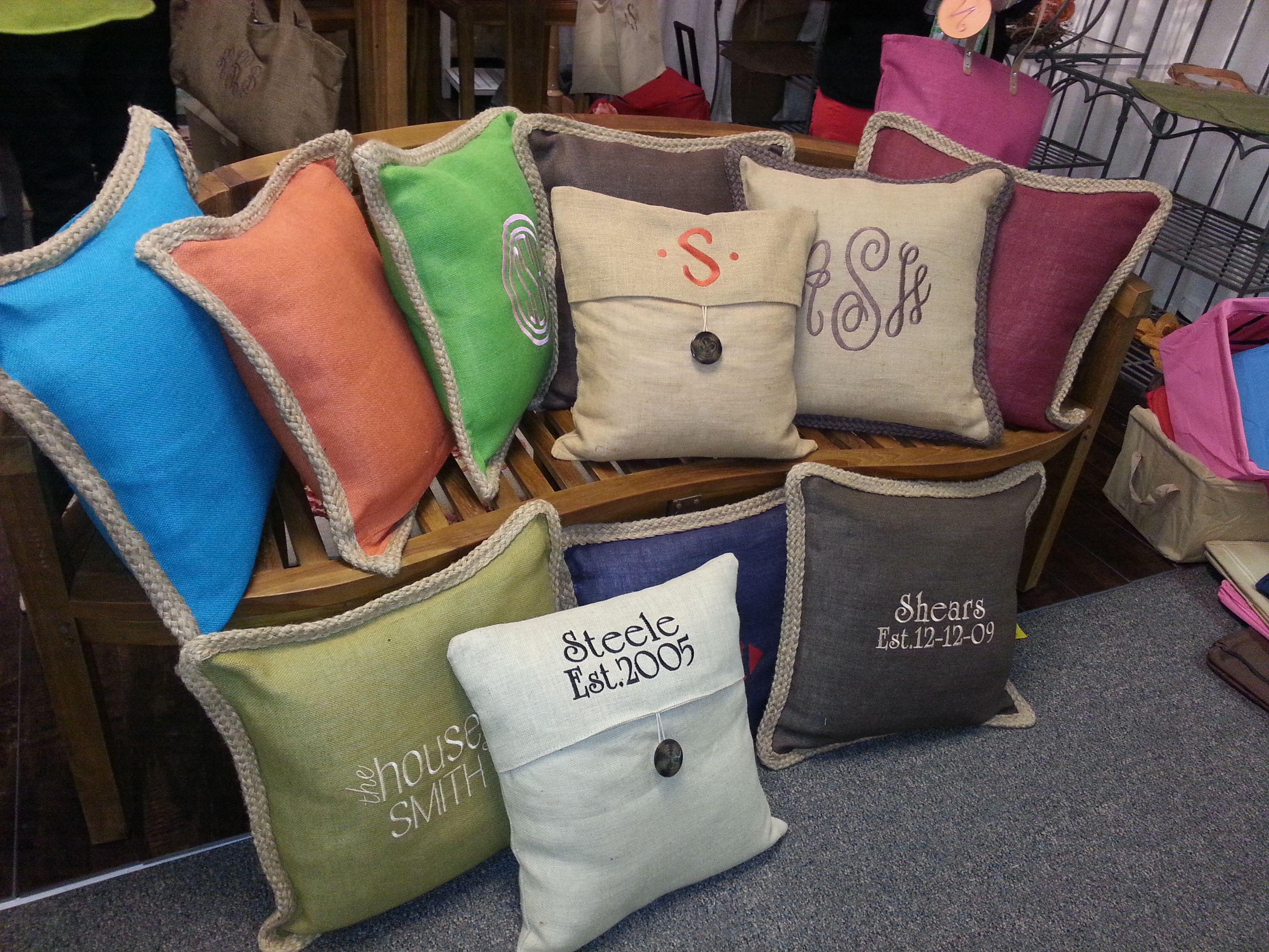 Jute Pillows