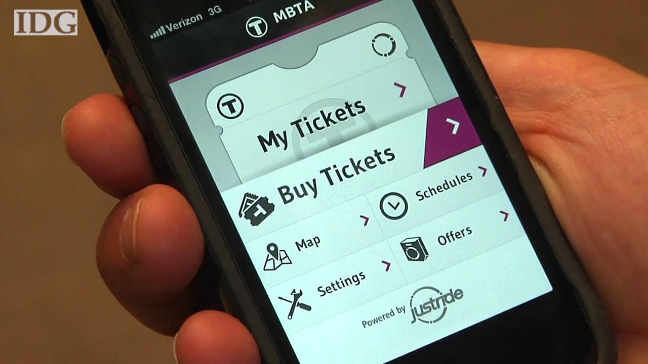 Mobile ticketing is an initiative to enhance the role of