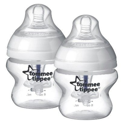 Tommee Tippee Closer To Nature Baby Bottle 3pk 5oz Baby Bottles Anti Colic Baby Bottles Tommee Tippee
