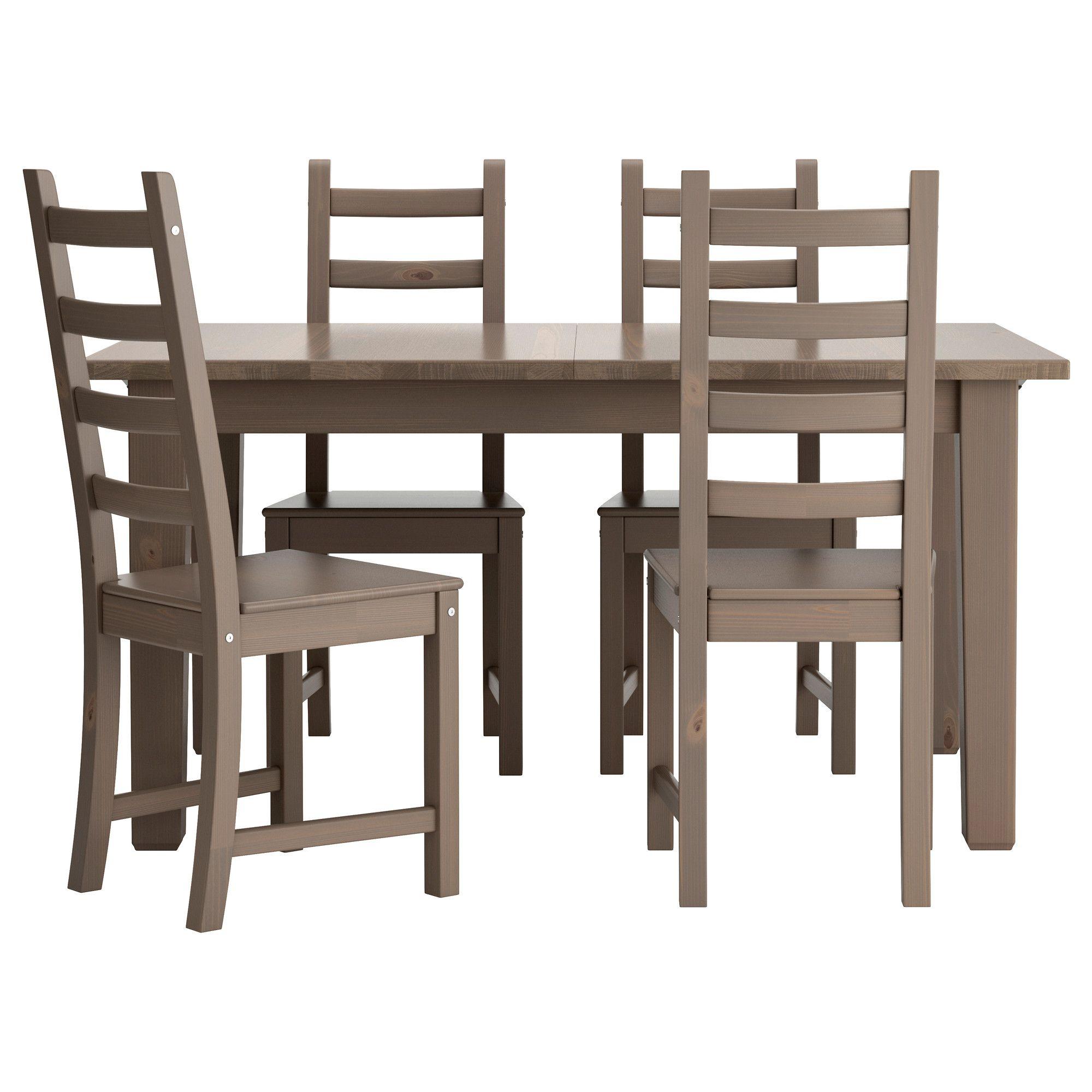 STORNÄS / KAUSTBY Tisch und 4 Stühle, braunschwarz | Ikea, Stuhl ...