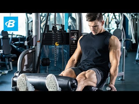 highvolume quad workout  30day legs with abel albonetti