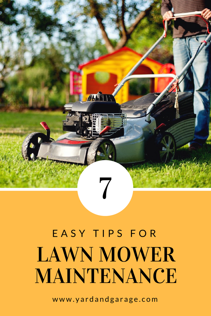 7 Lawn Mower Maintenance Tips to Get You Ready for Spring is part of lawn Mower Money - It's not hard at all to maintain your lawn mower by yourself  Plus it will save you money and the aggravation of loading it up and hauling over town