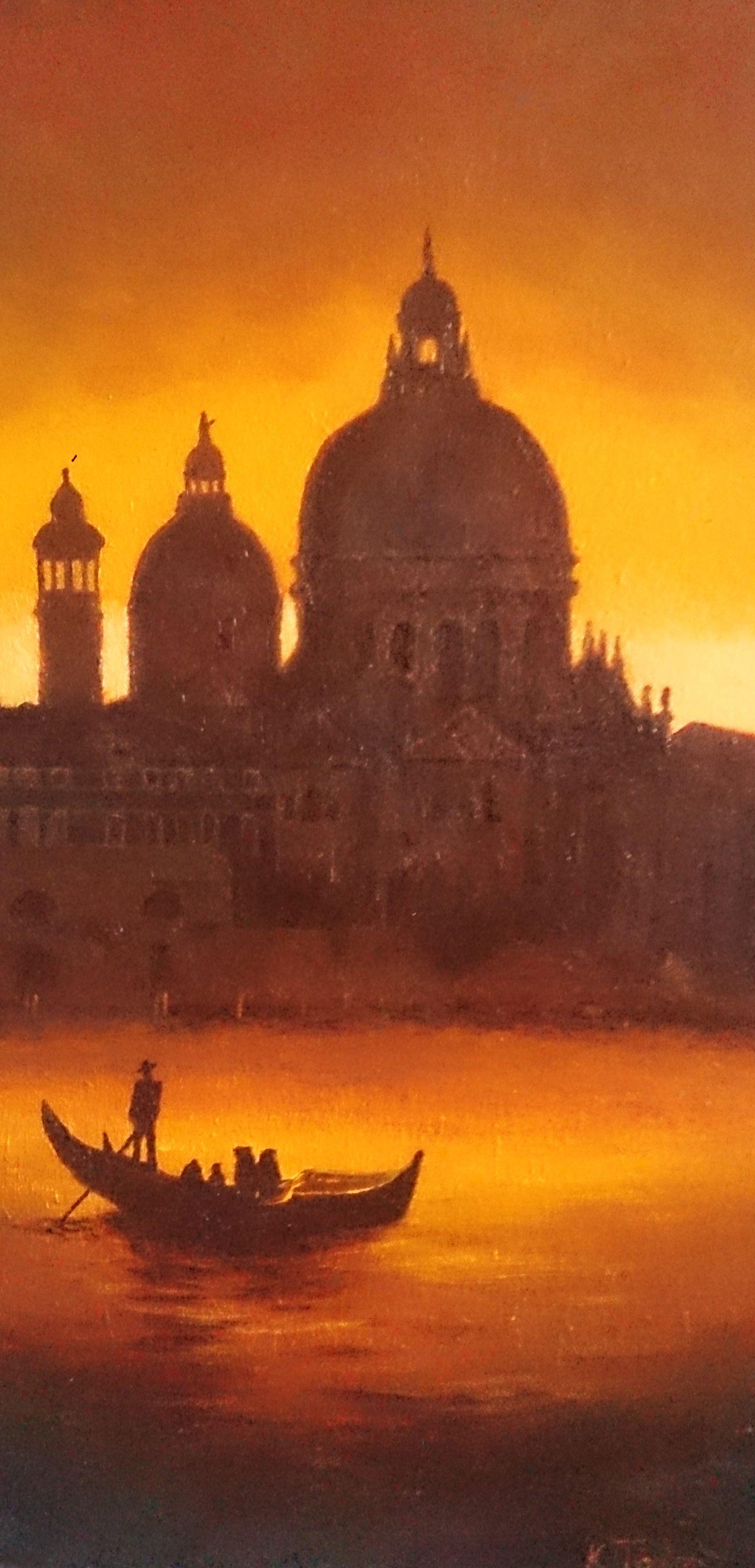 Venice Acrylics on deep edge canvas 2008