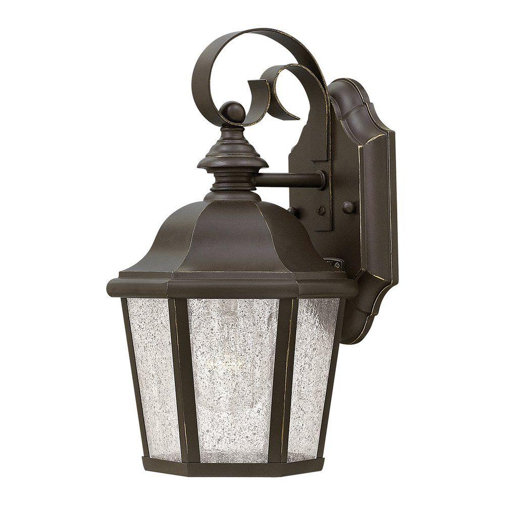 hinkley lighting 1674oz led edgewater led outdoor sconce atg