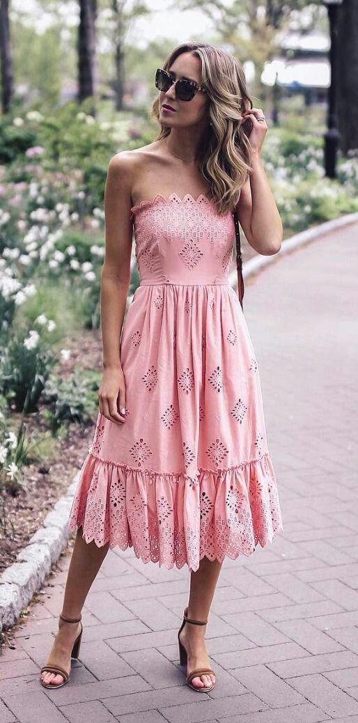 Pink Dress | Vestidos | Pinterest | Ropa de dama, Damas y Vestiditos