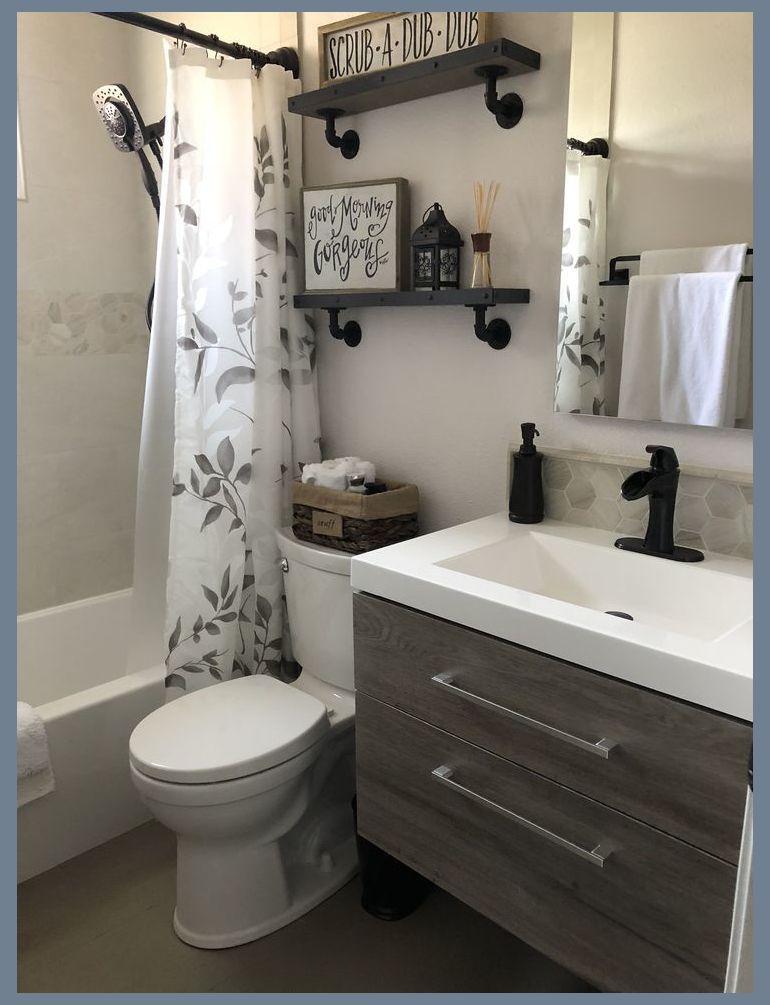 31 Small Bathroom Design Ideas For Your Home Bathroom Remodeling Ideas For Bathroom Remod In 2020 Small Bathroom Remodel Small Bathroom Bathrooms Remodel