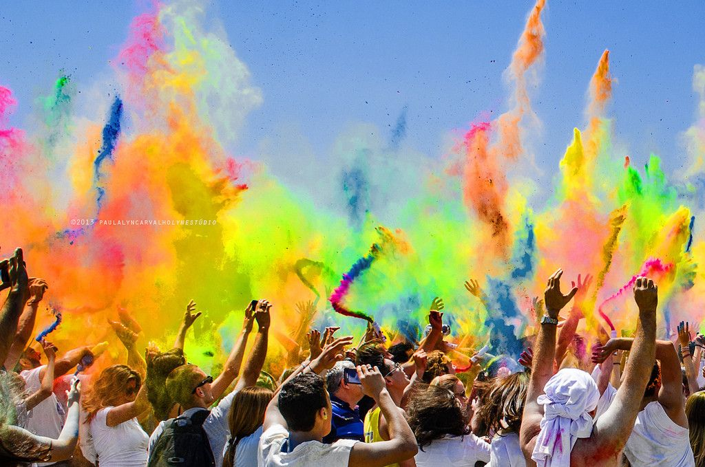 世界一カラフルで盛り上がるお祭り!インド発の「色かけ祭り」が横浜にやってくる! | by.S