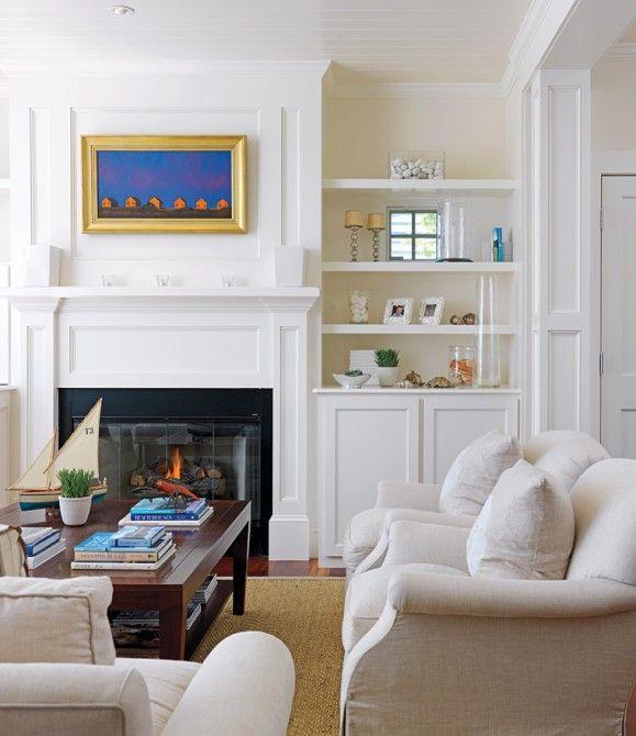 Interior Design Of Cape Cod Residence By Mark Bombara Interiors Photography By Richard Mandelkorn Beach House Living Room Interior Design Interior Cape cod living room decor
