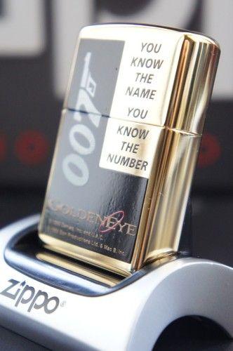 Zippo Lighter Gold Plated 007 James Bond No 250 Bnd Golden Eye Special Edition Rare Unusual Zippo Lighters Cases And A Zippo Lighter Zippo Cool Lighters