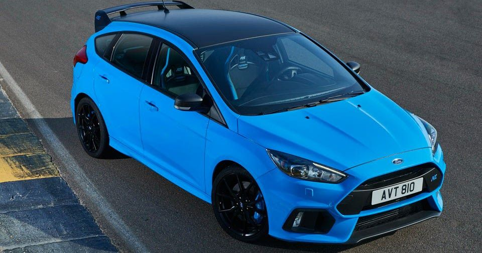 Euro Spec Ford Focus Rs Also Getting Limited Slip Diff Option