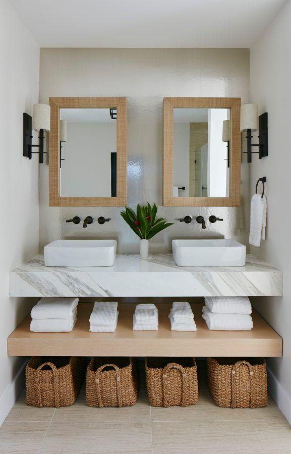 Coastal Home and Bathroom | Erin Paige Pitts Interiors ...