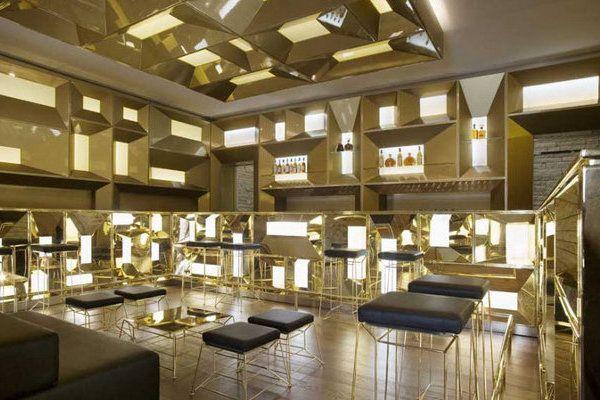 D&G LOUNGE GOLD ROOM Pinterest Restaurant Bar Design