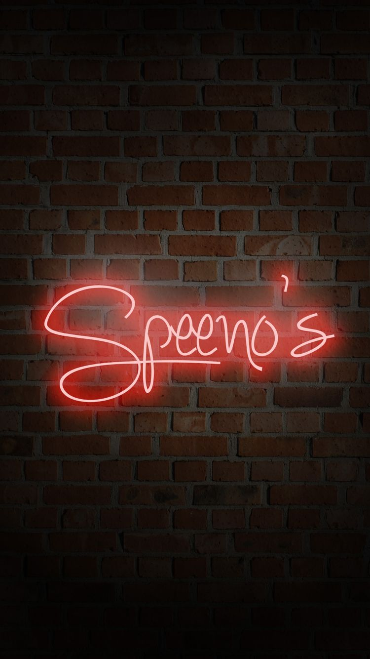Neon Wall Signs speeno speeno iphone 6 background wallpaper neon sign brick wall