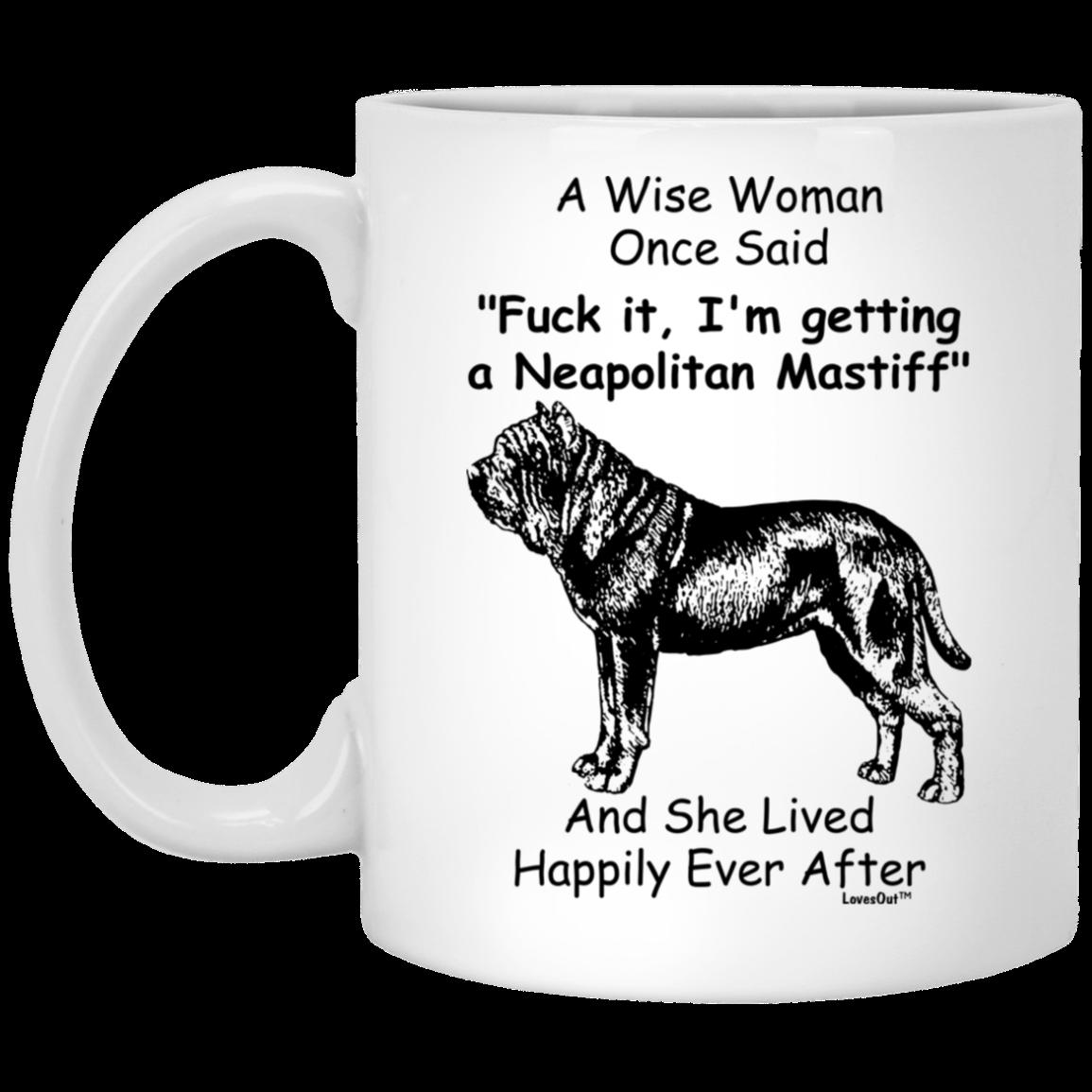 Neapolitan Mastiff Gift For Dog Mom Coffee Mug Dog Dad Gifts Neapolitan Mastiffs Dog Gifts