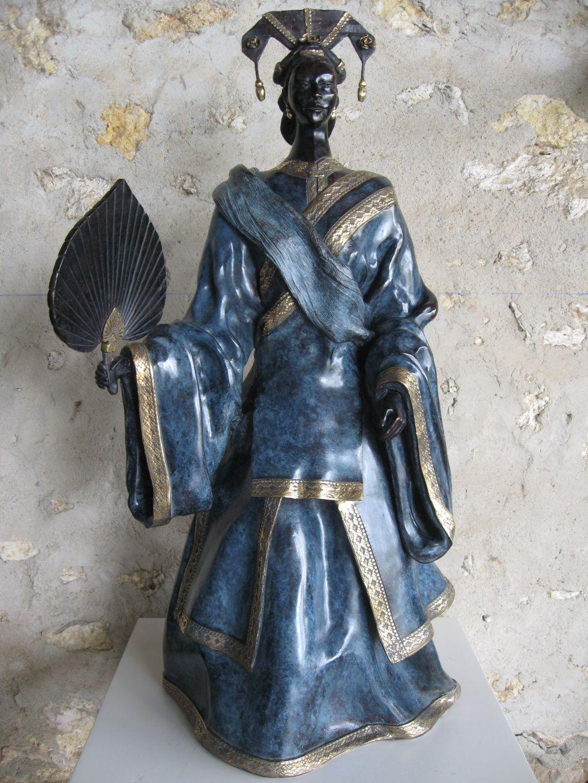 statue africaine raku