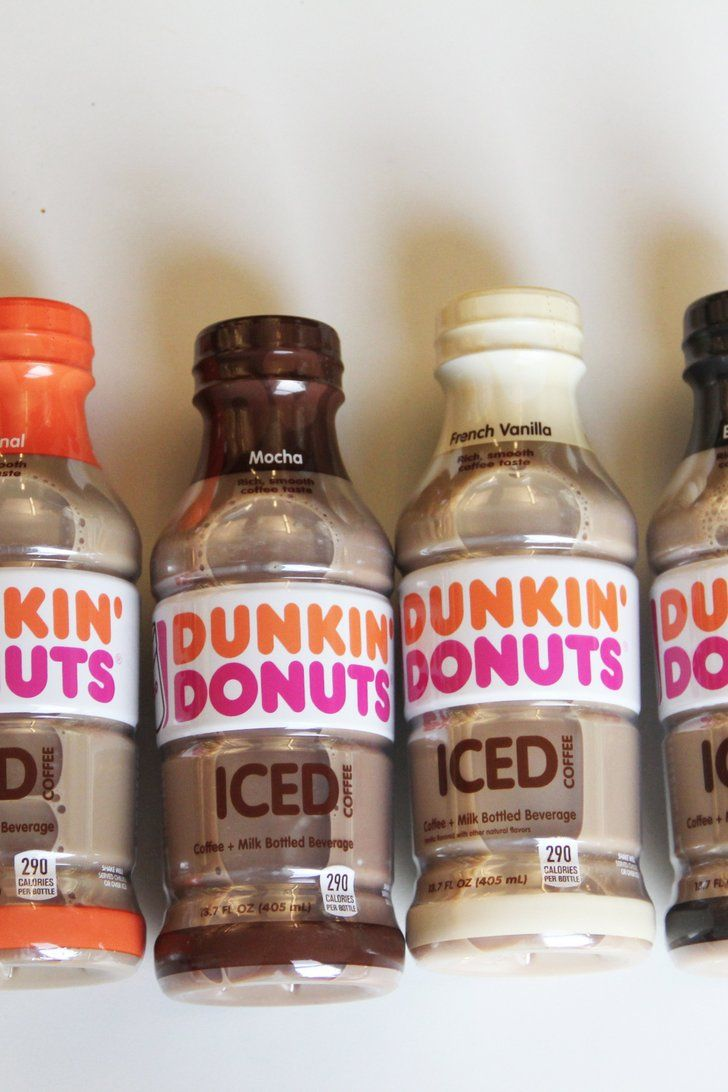 Dunkin donuts new bottled iced coffees are here and we