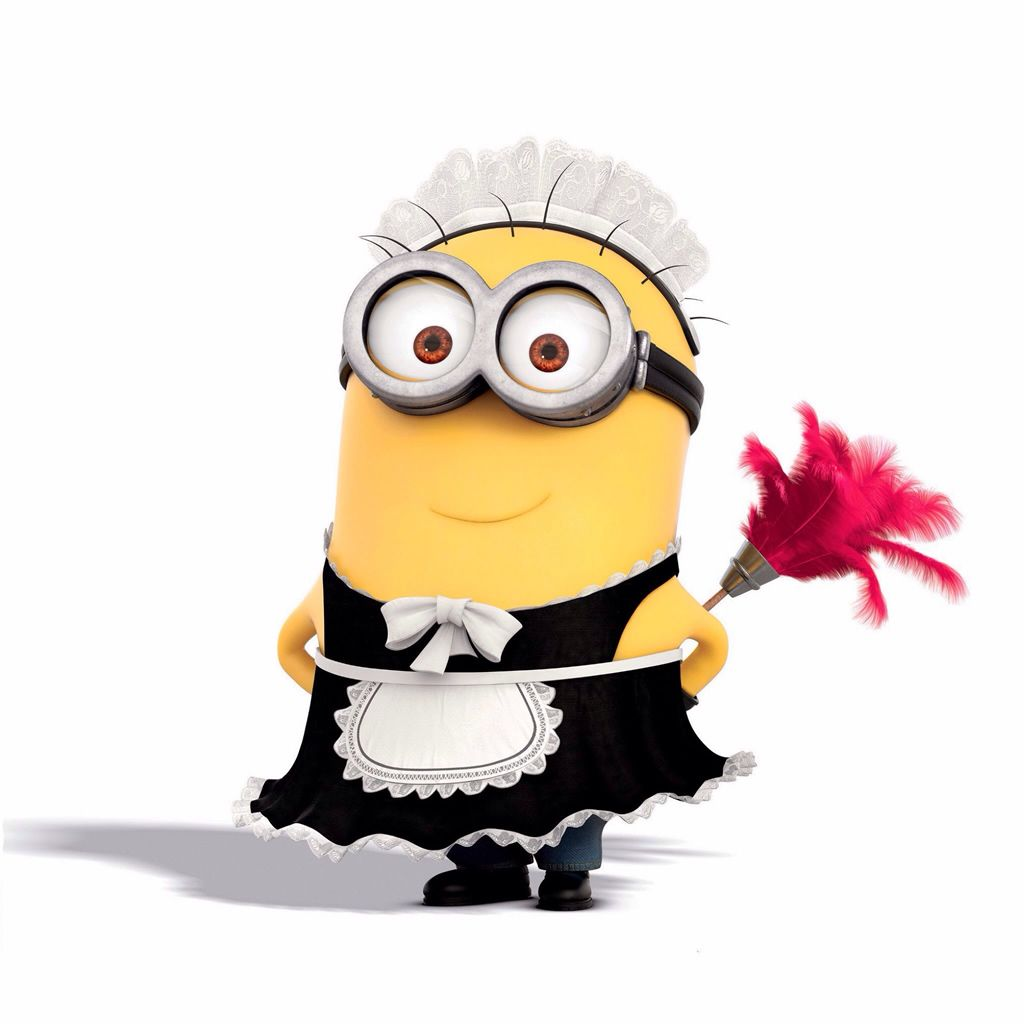 cute minion maid #ipad #wallpaper | ipad wallpapers | pinterest