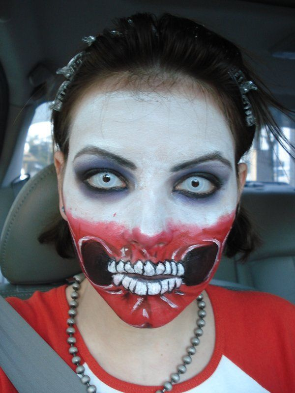Excellent Halloween DIY Zombie makeup Zombies Pinterest - scary homemade halloween costume ideas