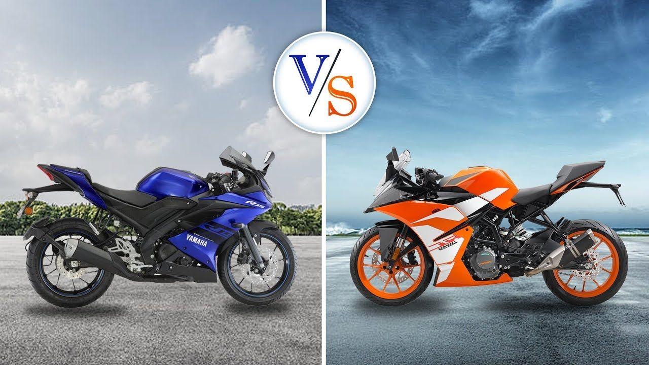 Yamaha R15 V3 Vs Ktm Rc125 Which Sports Bike To Buy Ktm