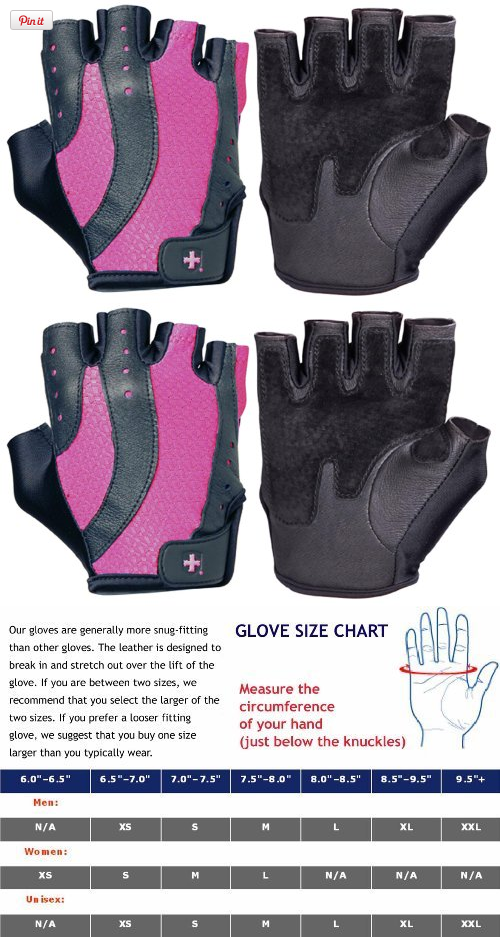 Harbinger 149 Womens Pro Wash Dry Weight Lifting Gloves Black