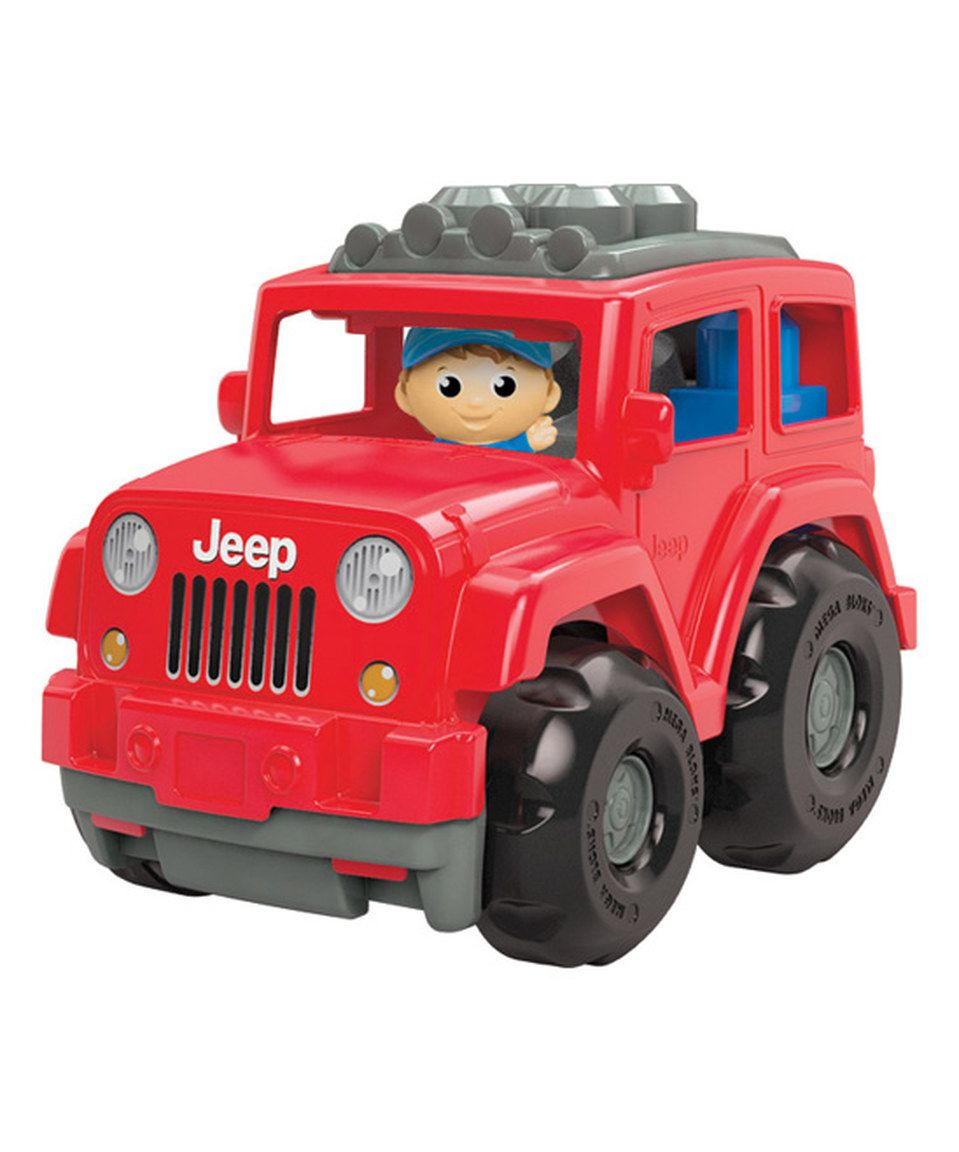 Another Great Find On Zulily Lil Jeep Wrangler Set By Mega Bloks