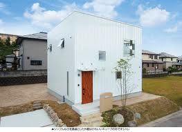 外観 シンプル 四角い 白い家 Google Search 住宅 外観 白い家 家
