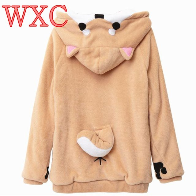 Buy now Doge Women Hoodies Ear Hoodie Pouch Women's Clothing  Pullover Sweatshirt Vetement Kawaii Japanese Anime Tail WXC just only $24.34 - 27.17 with free shipping worldwide  #womanhoodiessweatshirts Plese click on picture to see our special price for you
