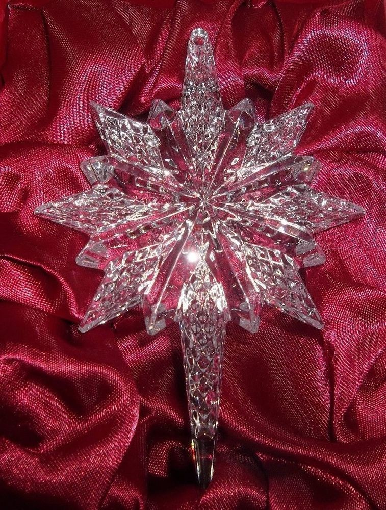 2014 Waterford Crystal Annual SNOWSTAR Christmas Ornament ...