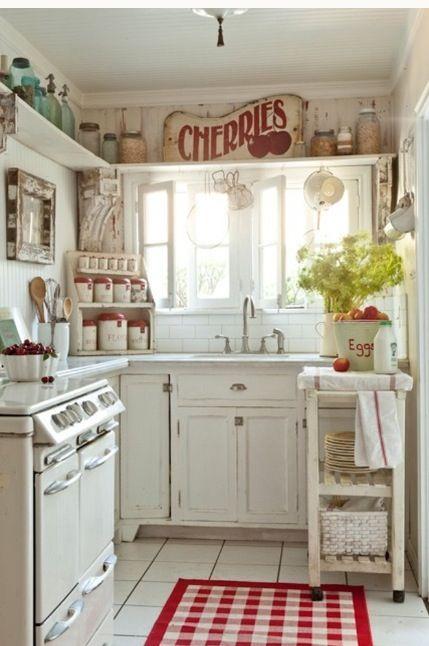 Ideas de como se puede organizar las cosas en una cocina for Como se decora una cocina pequena