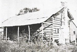 The William Reed cabin.