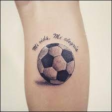 Resultado De Imagen Para Tatuajes De Balones De Futbol 3d