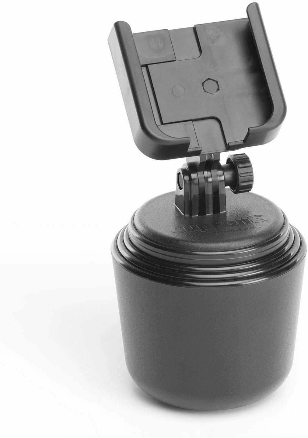 Cupfone Is A Cell Phone Holder That Sits Conveniently In Your