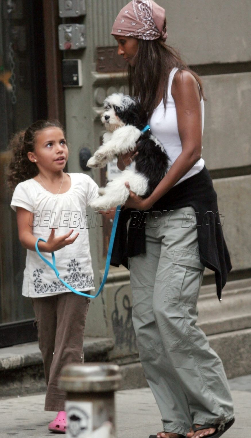 David Bowie Iman Daughter Iman And David Bowie David Bowie Iman Daughter